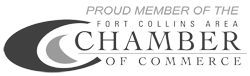 Proud Member of the Fort Collins Chamber of Commerce