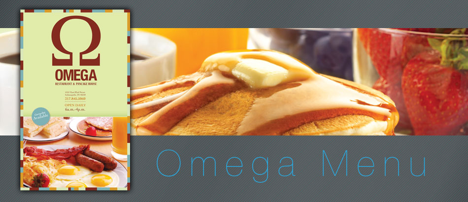 OMEGA Restaurant Menu