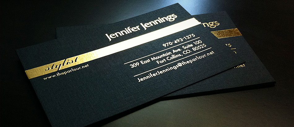 Parlour Business Cards